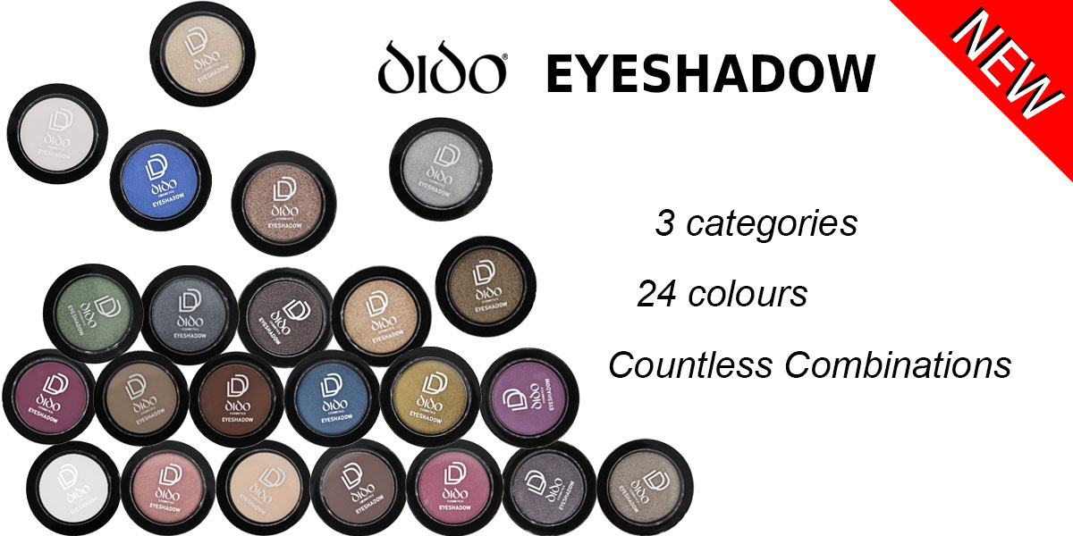 New Eyeshadows Series! Satin , Matte , Wet & Dry!