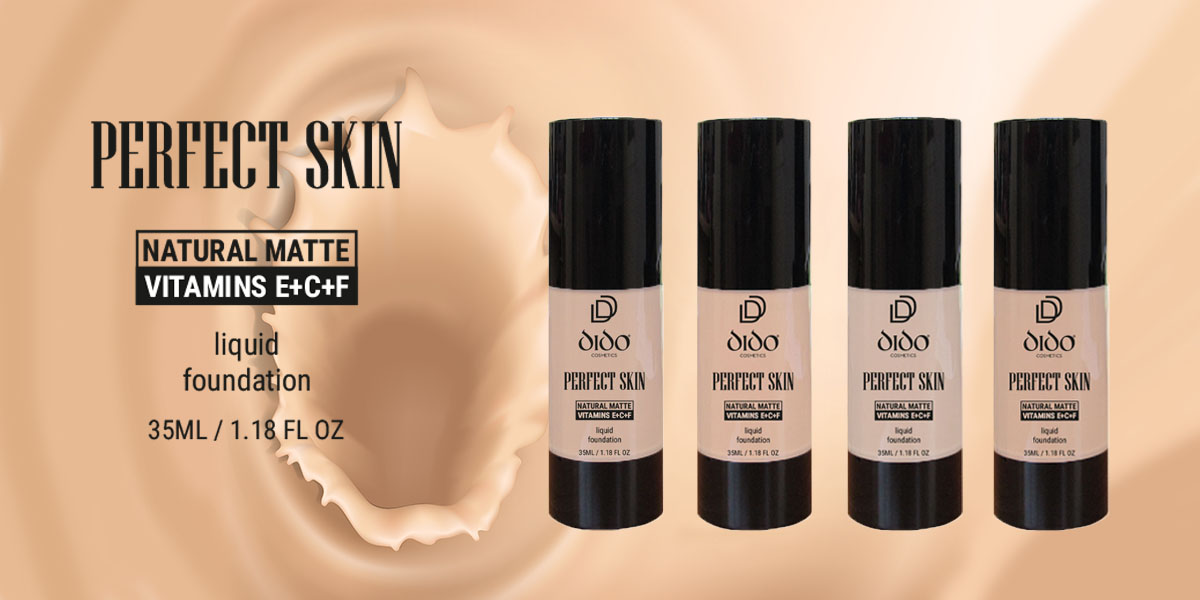 Perfect Skin Liquid Foundation!