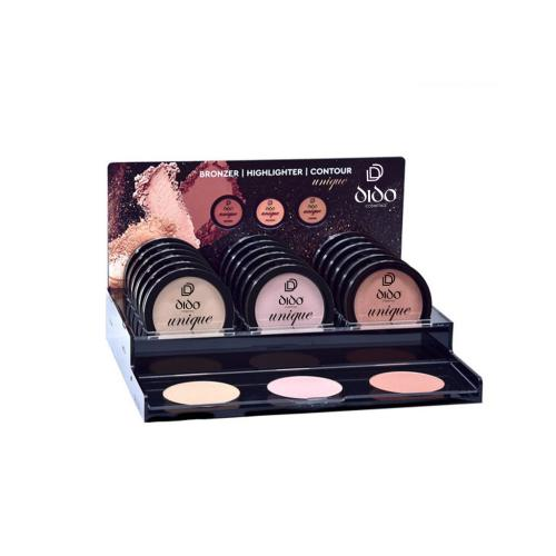 Bronzers-Highlighters-Contours Stand Small
