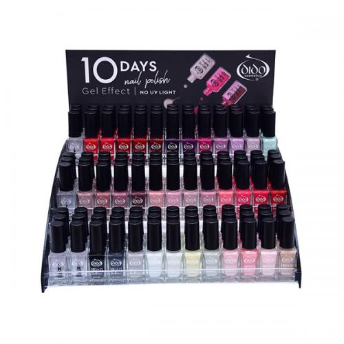 10 Days Gel Effect Stand 1